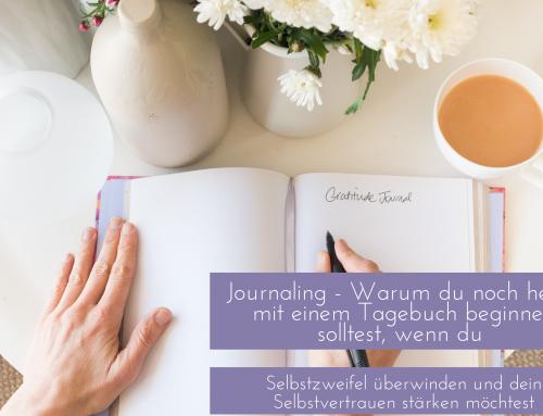 Journaling für mehr Selbstvertrauen